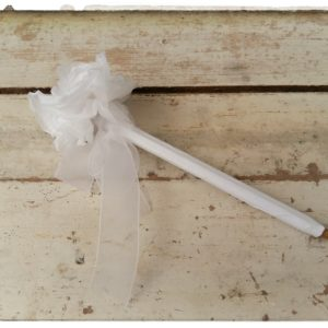 stylo fleur blanche