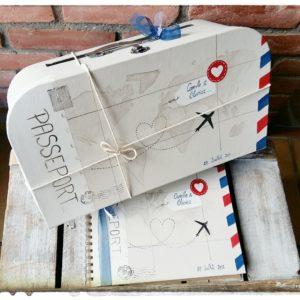 Votre Cagnotte mariage et son livre d'or Air Mail