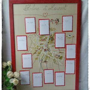 Plan de Table Créer au Thème de Votre Mariage