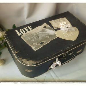 Valise de Mariage Vintage Love