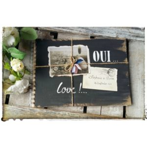 Album photos vintage Love, Oui